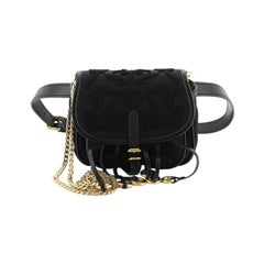 Prada Corsaire Belt Bag Embroidered Quilted Tessuto Small