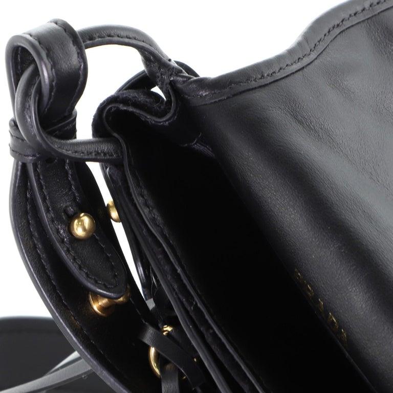 Women's Prada Corsaire Shoulder Bag Quilted Velvet with Calfskin Small