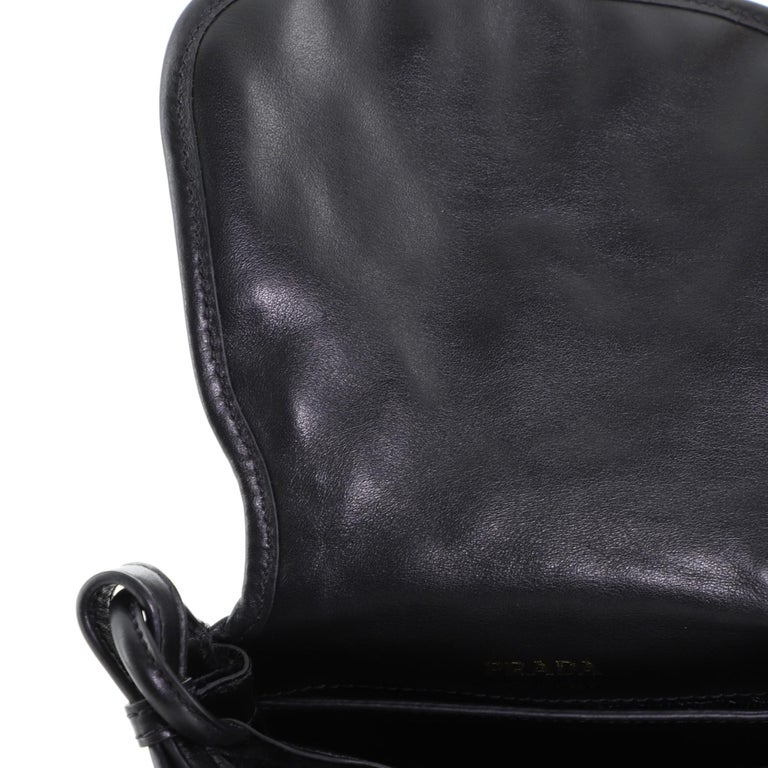 Prada Corsaire Shoulder Bag Quilted Velvet with Calfskin Small 1