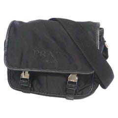 PRADA cross body Mens shoulder bag black