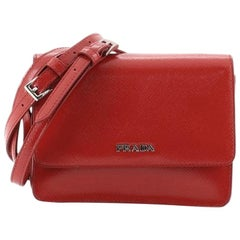 Prada Crossbody Bag Vernice Saffiano Leather Mini