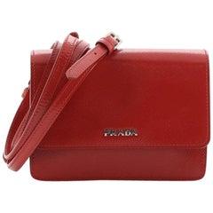 Prada Crossbody Bag Vernice Saffiano Leather Mini