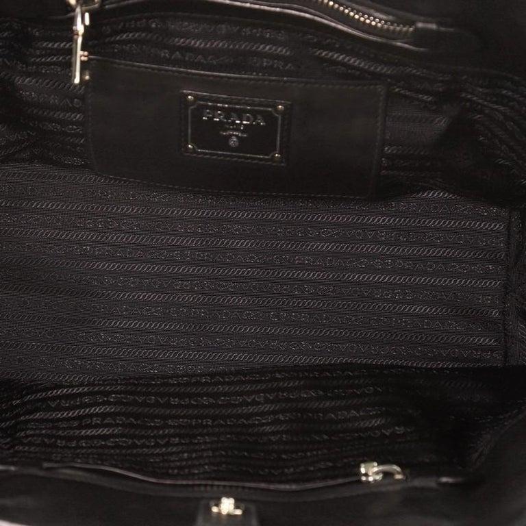 Women's or Men's Prada Cuir Convertible Shopping Tote Soft Calfskin Large