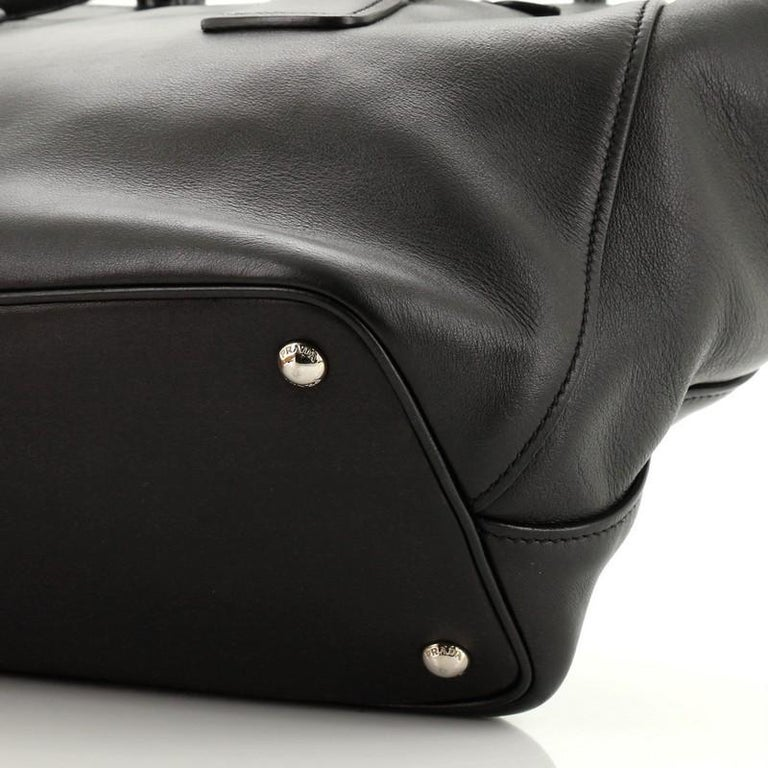 Prada Cuir Convertible Shopping Tote Soft Calfskin Large 1