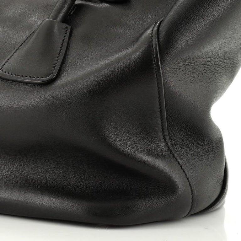 Prada Cuir Convertible Shopping Tote Soft Calfskin Large 2
