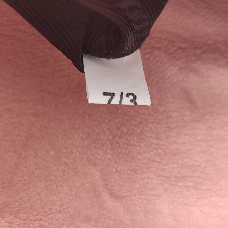 PRADA Diagramme Shoulder bag in Pink Leather For Sale 3