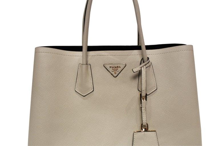PRADA Double Bag Medium  For Sale 3