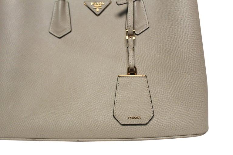 PRADA Double Bag Medium  For Sale 4