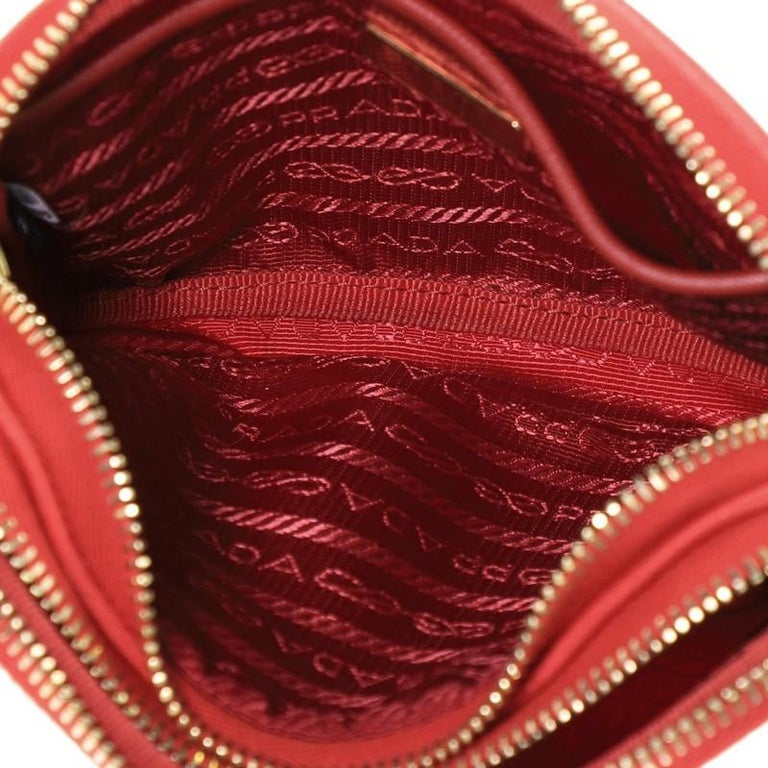 Prada Double Zip Camera Bag Tessuto Mini For Sale 1