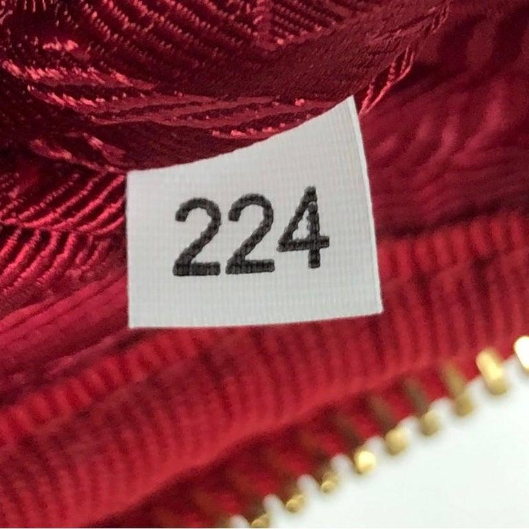 Prada Double Zip Camera Bag Tessuto Mini For Sale 2
