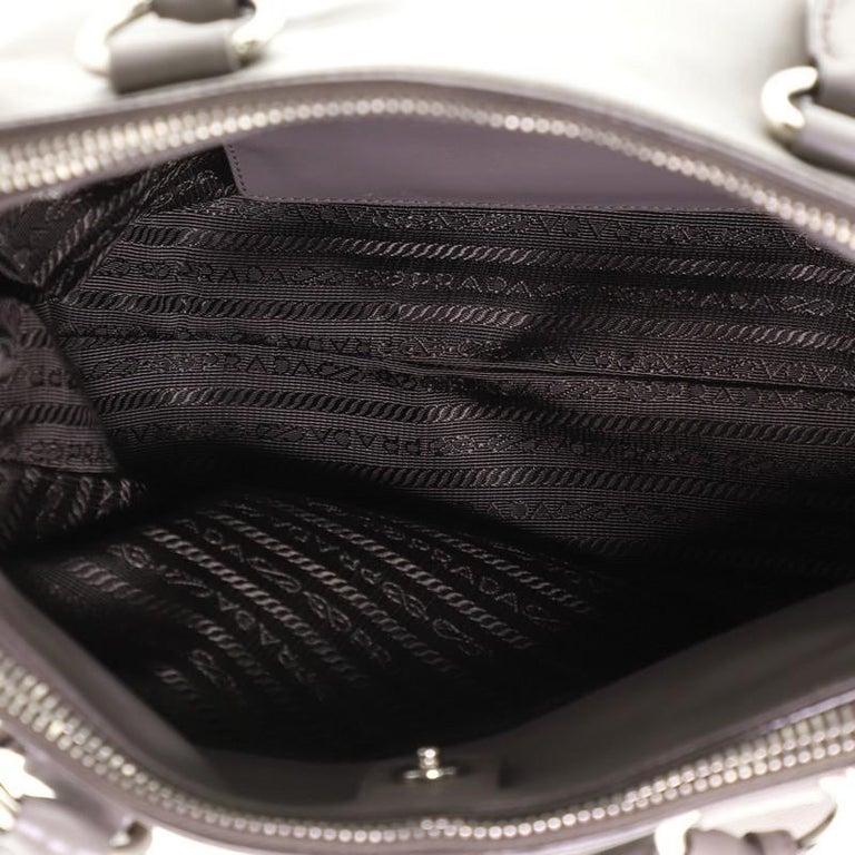 Women's or Men's Prada Double Zip Convertible Tote Soft Calfskin Medium