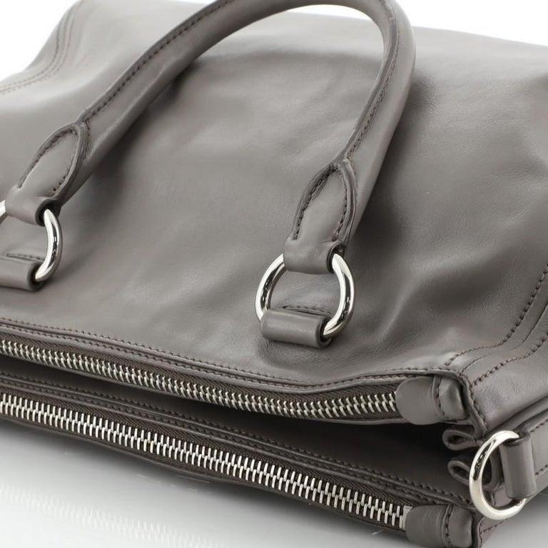 Prada Double Zip Convertible Tote Soft Calfskin Medium  2