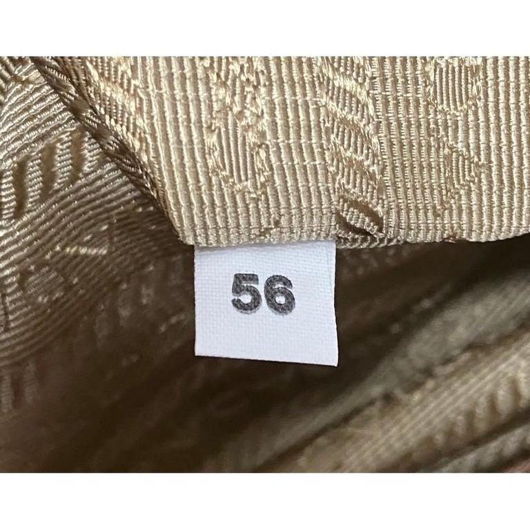 Prada Double Zip Lux Tote Saffiano Leather Medium For Sale 6