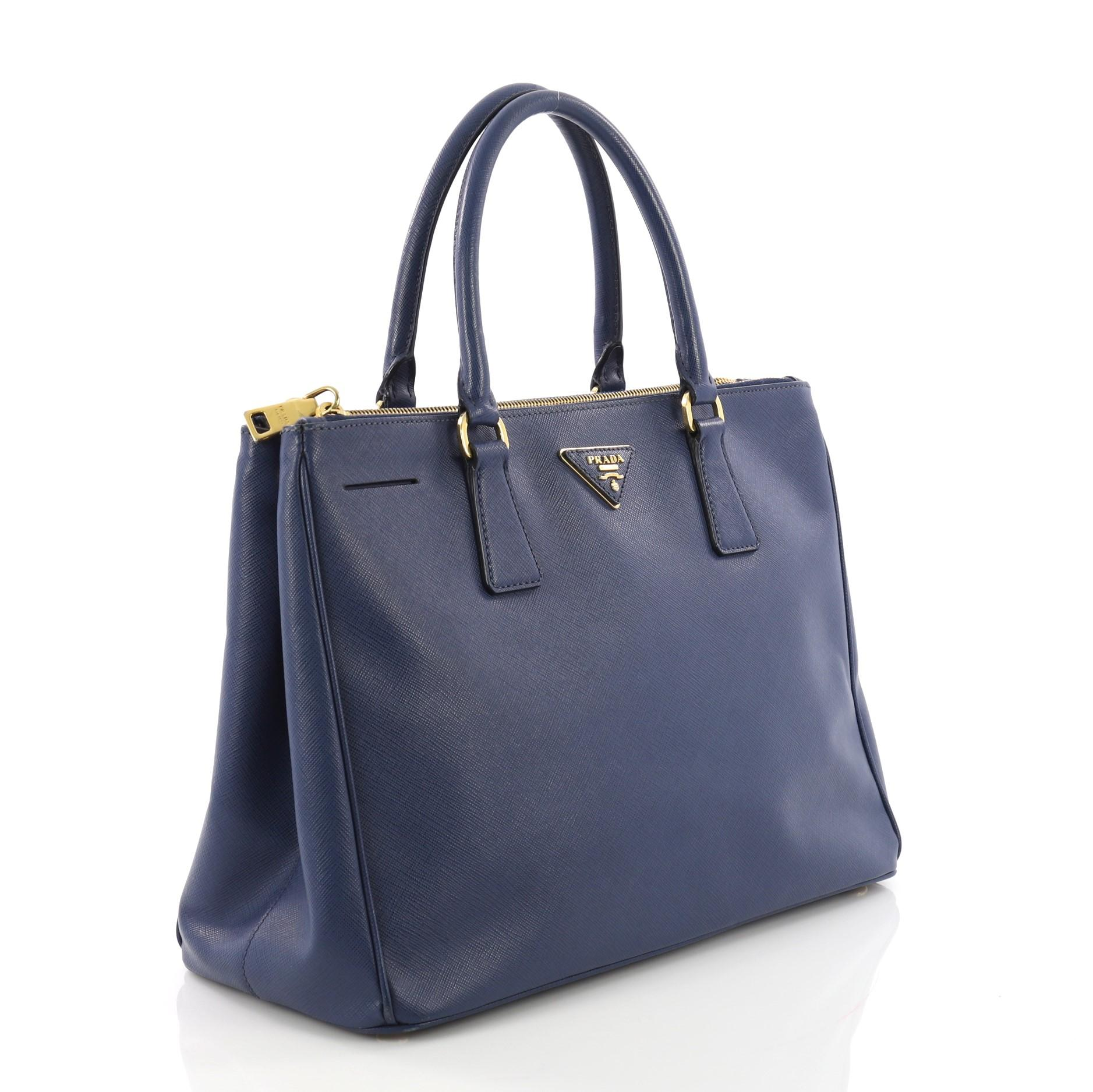 af047039882caa ... usa prada double zip lux tote saffiano leather medium for sale at  1stdibs 3f413 487c0