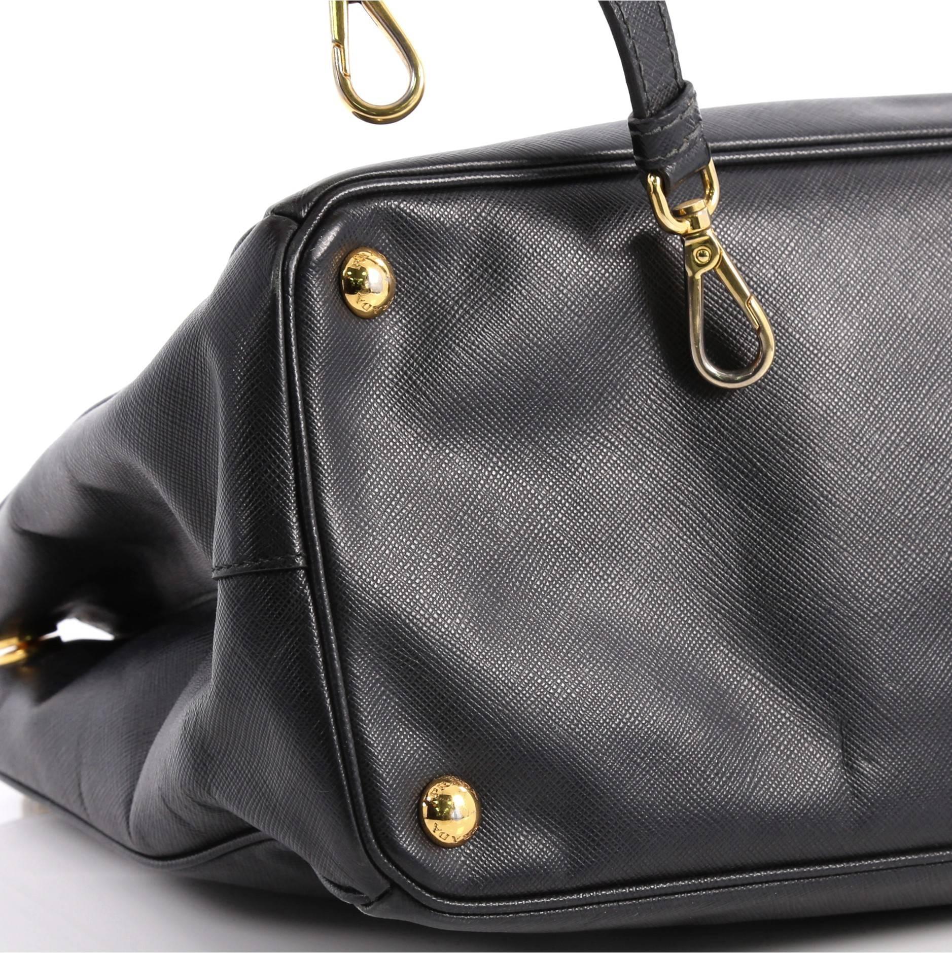 1b413d1caab5 ... norway prada double zip lux tote saffiano leather medium at 1stdibs  19a93 4b56d