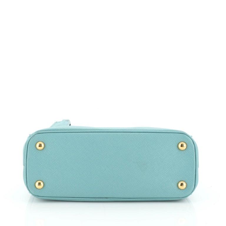 Women's or Men's Prada Double Zip Lux Tote Saffiano Leather Mini