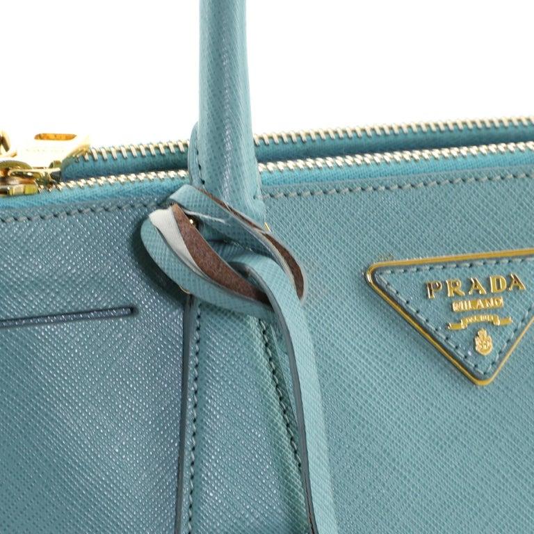 Prada Double Zip Lux Tote Saffiano Leather Mini 3