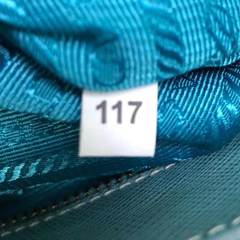 Prada Double Zip Lux Tote Saffiano Leather Mini 5