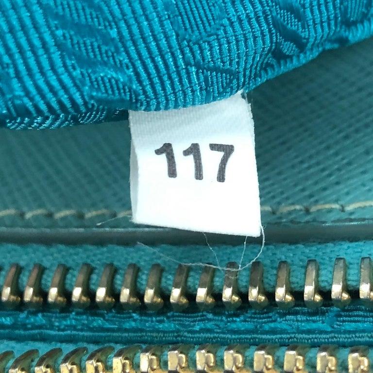 Prada Double Zip Lux Tote Saffiano Leather Mini For Sale 5