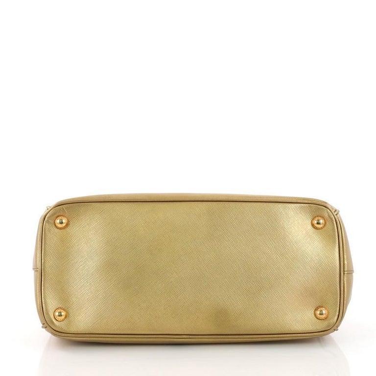 Women's Prada Double Zip Lux Tote Saffiano Leather Small For Sale