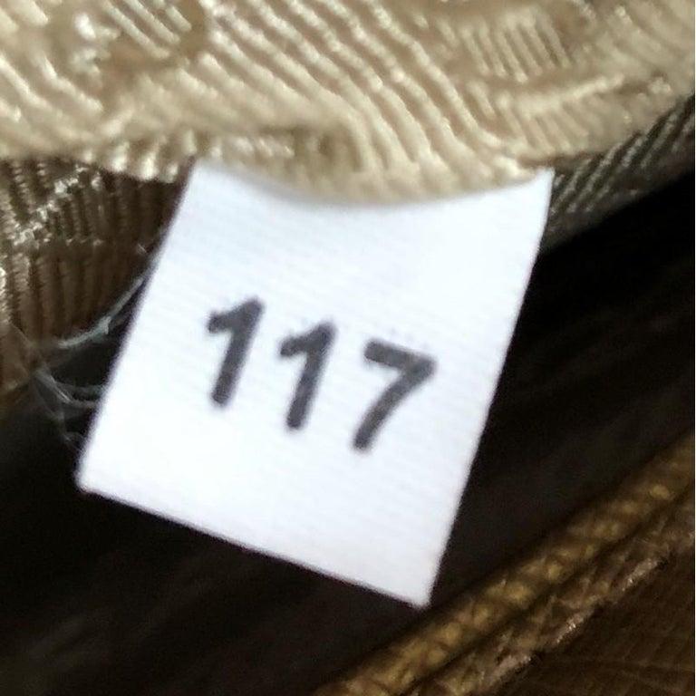 Prada Double Zip Lux Tote Saffiano Leather Small For Sale 2