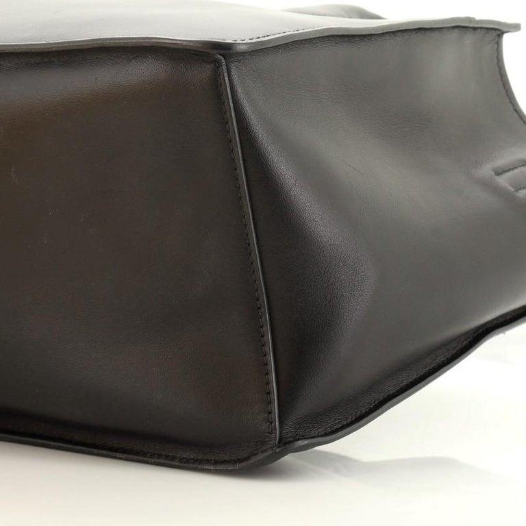 Prada Dual Shopping Tote Calfskin Medium  For Sale 3