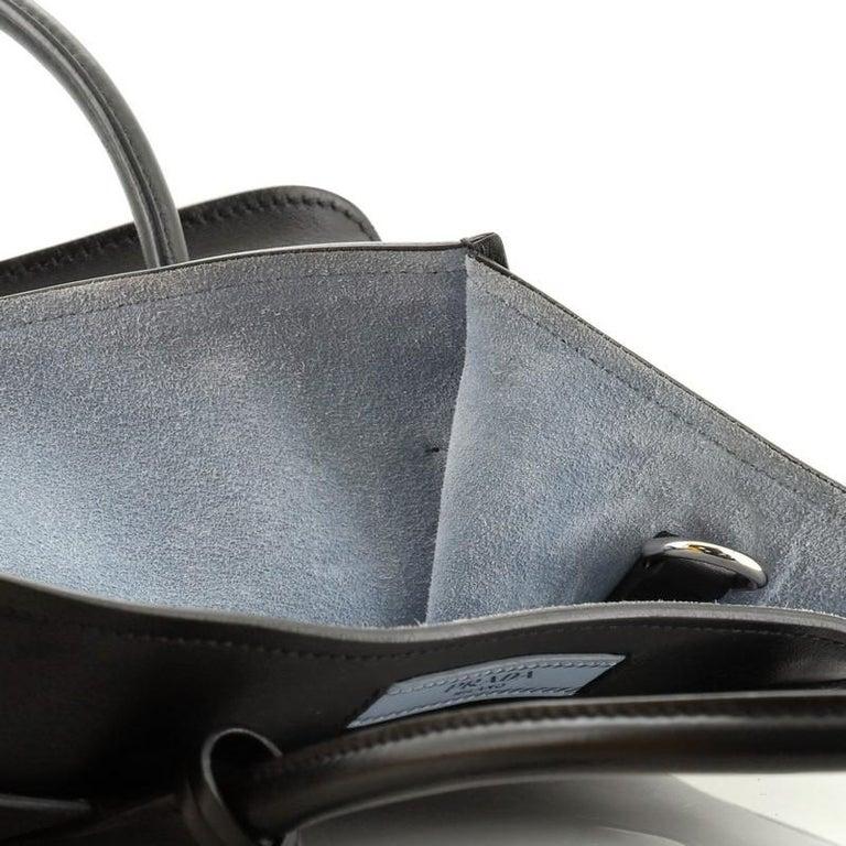 Prada Dual Shopping Tote Calfskin Medium  For Sale 4