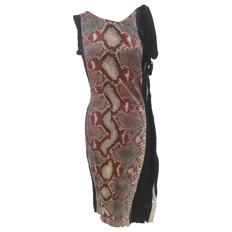 Prada Duchesse Antique Dress NWOT