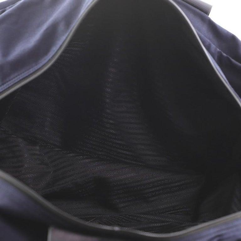 Prada Duffle Bag Canvas Large For Sale 1