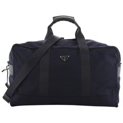 Prada Duffle Bag Canvas Large