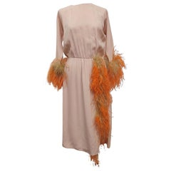 Prada Elegant Feather Dress IT 40 / US4-6
