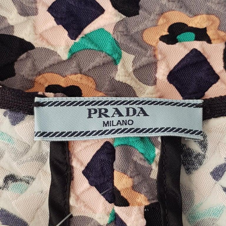 Women's Prada Embossed Dress IT 40 For Sale