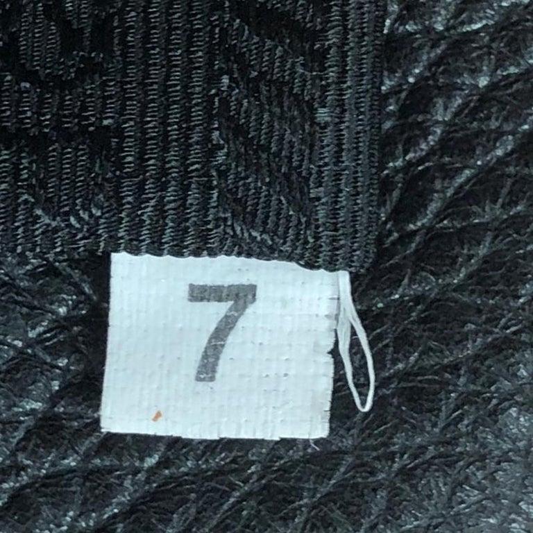 Prada Embossed Logo Bauletto Bag Vitello Daino Medium For Sale 5