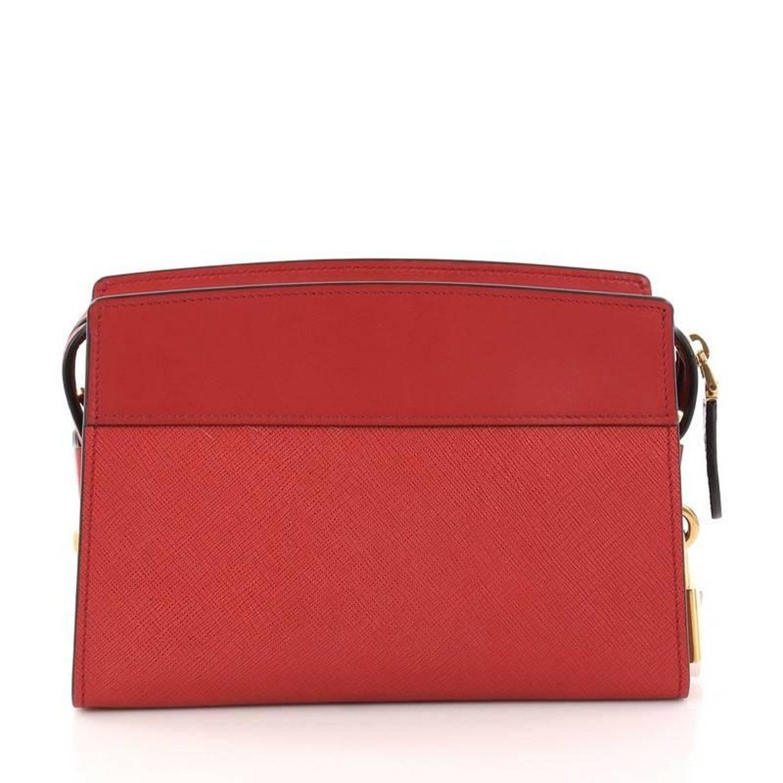 c0d915b1922eb9 Prada Esplanade Crossbody Bag Saffiano Leather Small at 1stdibs