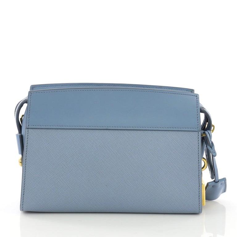 89862c6397bd Prada Esplanade Crossbody Bag Saffiano Leather Small In Good Condition For  Sale In New York