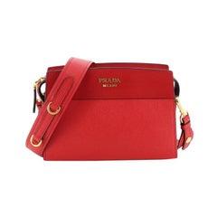 Prada  Esplanade Crossbody Bag Saffiano Leather Small