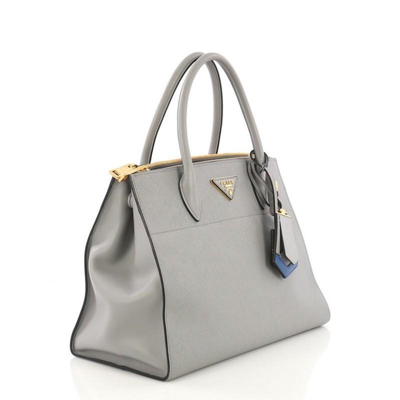 2fa8686060c991 Prada Esplanade Handbag Saffiano Leather Medium at 1stdibs