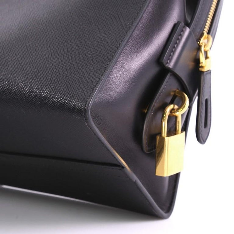 54e6b6f68c2d6d Prada Esplanade Handbag Saffiano Leather Medium For Sale 2