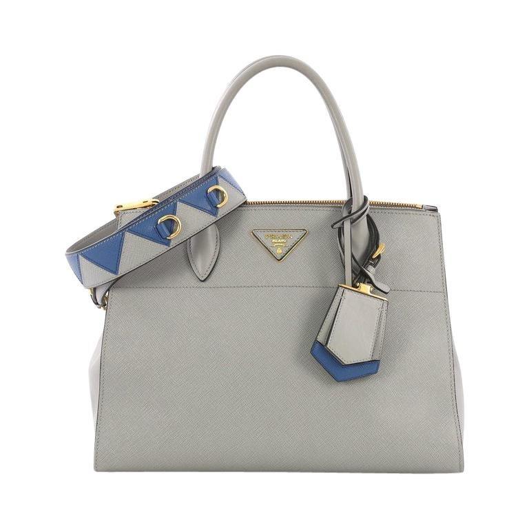 a8e6378c02ec Prada Esplanade Handbag Saffiano Leather Medium For Sale at 1stdibs