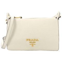Prada Flap Crossbody Bag Vitello Daino Small