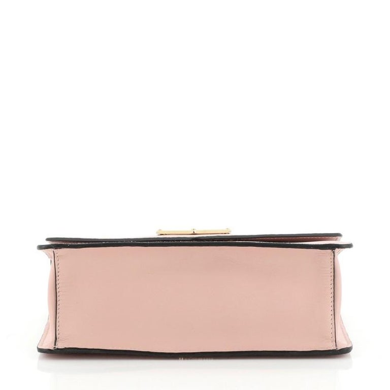Women's or Men's Prada Flip Lock Chain Shoulder Bag Saffiano Leather Small