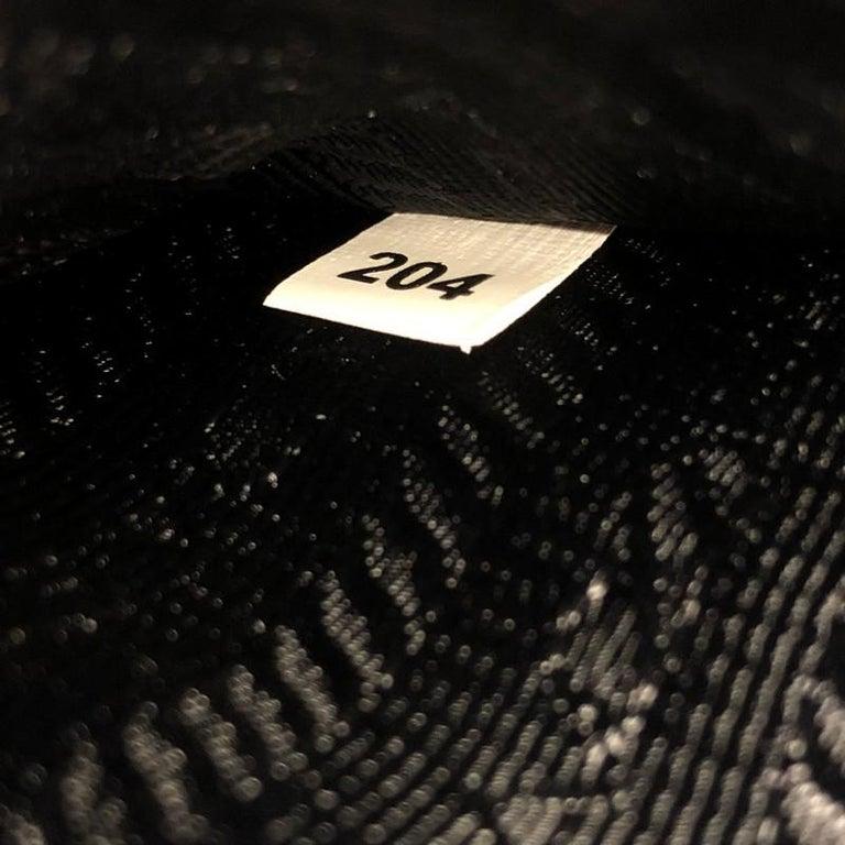 Prada Flip Lock Chain Shoulder Bag Saffiano Leather Small 2