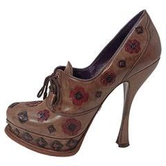 Prada Flower Shoe IT 40