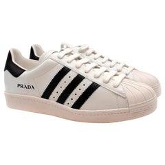 Prada for Adidas Originals Superstar Leather Sneakers - Size US 8