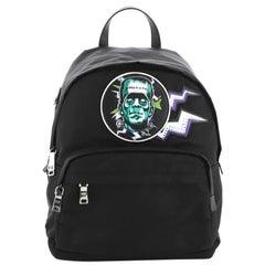 Prada Frankenstein Zip Backpack Tessuto