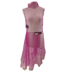 Prada fucsia purple tulle dress