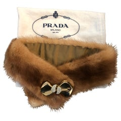 Prada Fur Collar w/Dust Bag