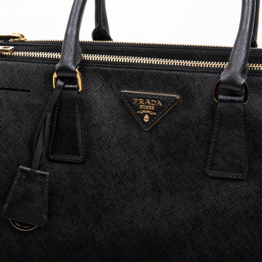 889f75865145 ... top quality prada galleria bag in black saffiano leather for sale 6  40208 56384