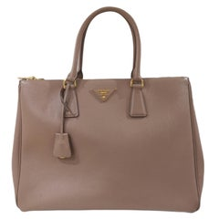 Prada Galleria Leather shoulder handle bag