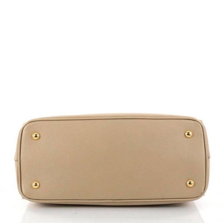 Women's Prada Gardener's Tote Saffiano Leather Medium For Sale